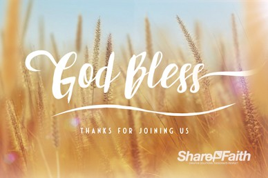 Thanksgiving Harvest Goodbye Motion Graphic