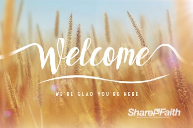 Thanksgiving Harvest Welcome Motion Graphic