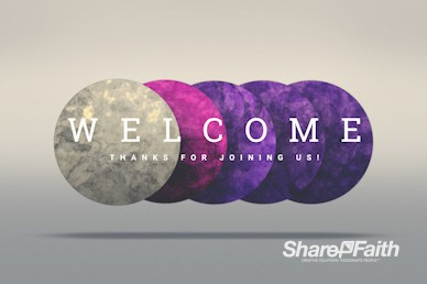 Advent Welcome Motion Graphic