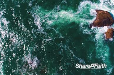 Ocean Waters Nature Background Video