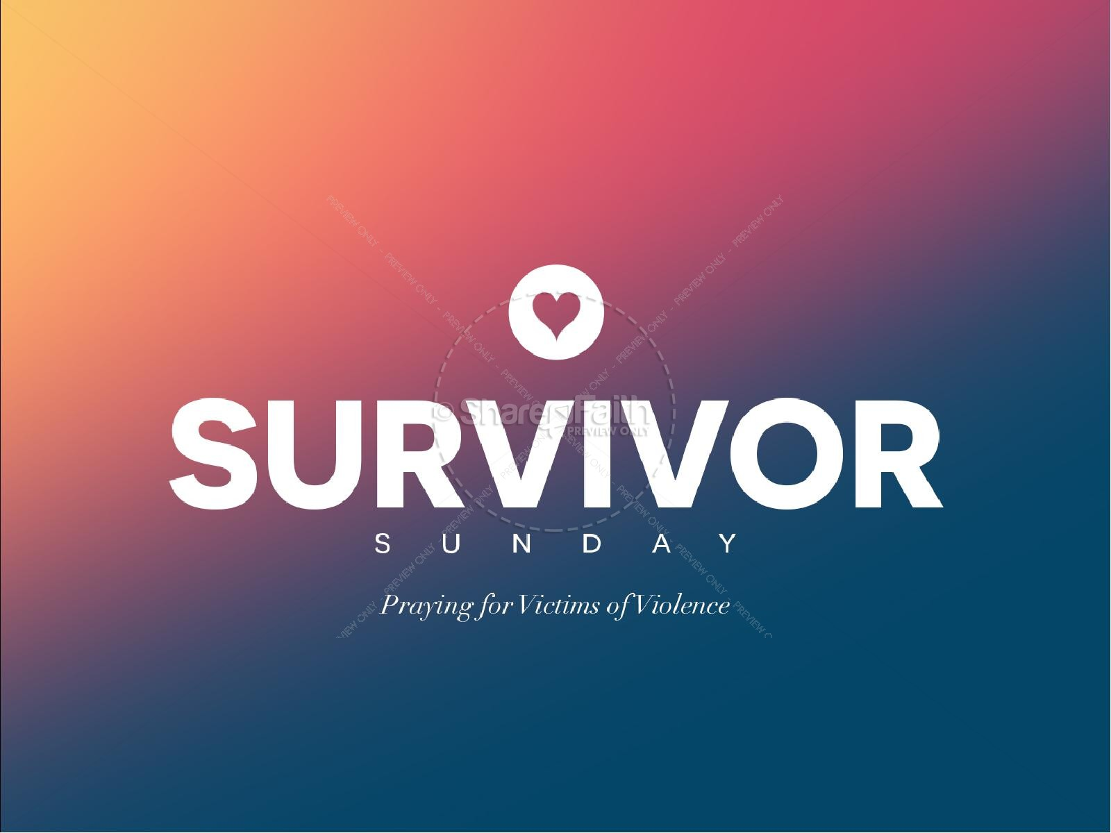 Survivor Sunday Church PowerPoint