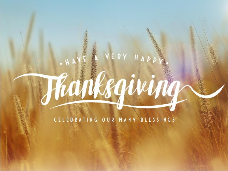 Thanksgiving Harvest Church PowerPoint