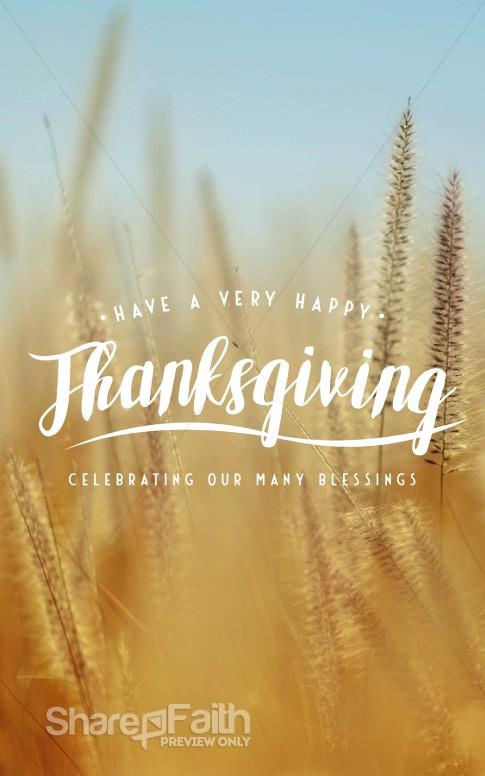 surprising Church Bulletin Cover Ideas Part - 8: Thanksgiving Harvest Church Bulletin Template