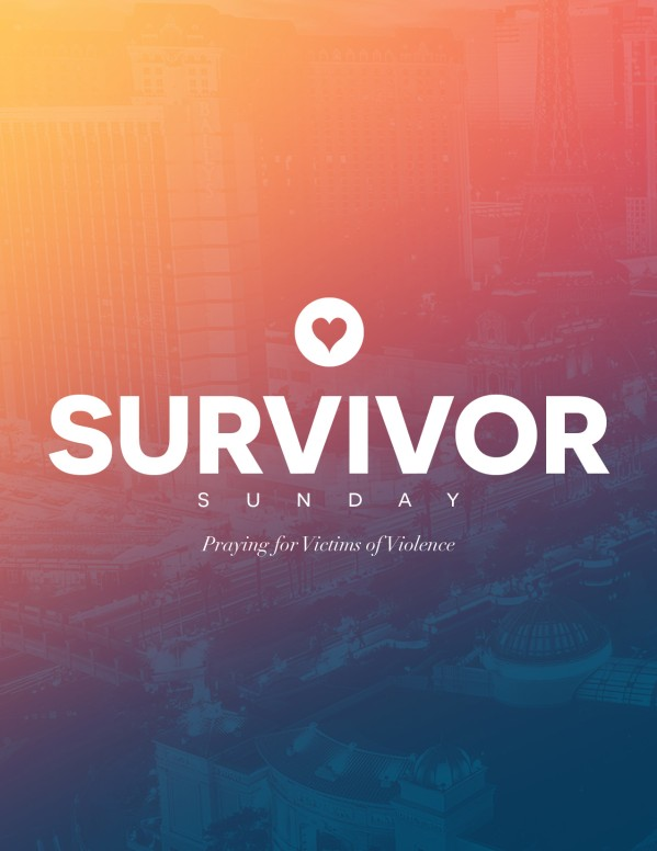 Survivor Sunday Church Flyer Template