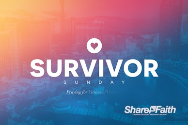 Survivor Sunday Church Motion Graphic