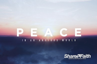 Peace Of Mind Church Motion Graphic