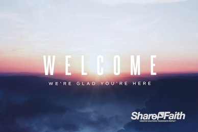 Peace Of Mind Welcome Motion Graphic