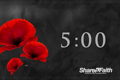 Remembrance Day Church Countdown