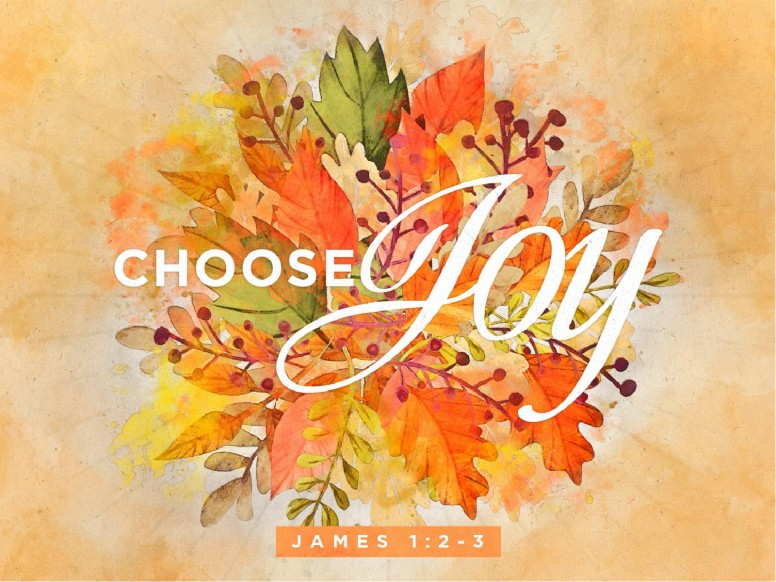 Choose Joy Sermon PowerPoint