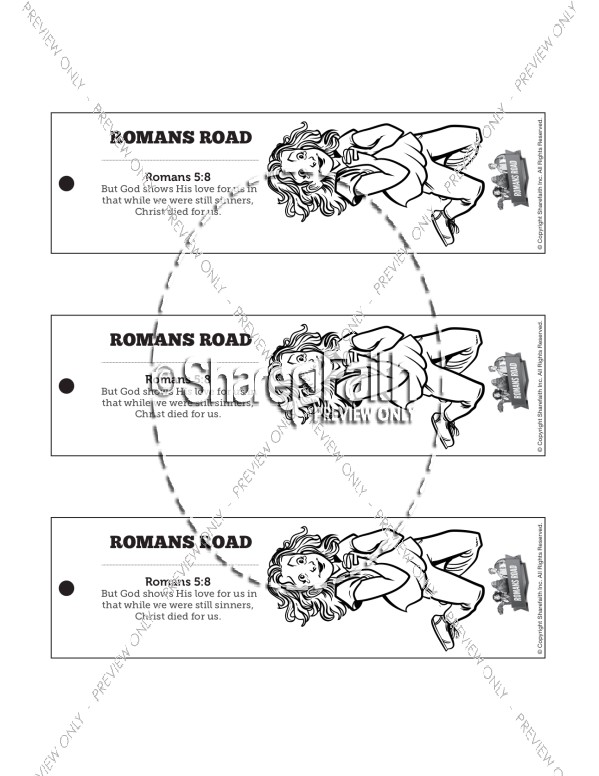 Romans Road Bible Bookmarks