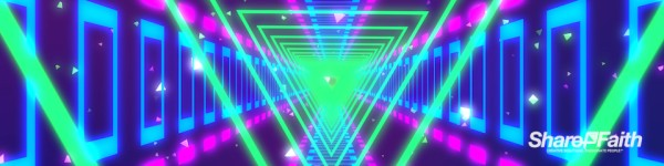 Neon Glow Triple Wideo Video