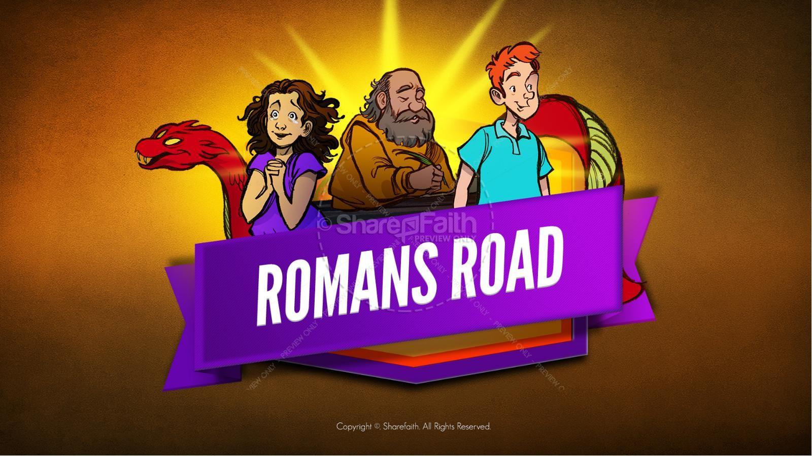 Romans Road Kids Bible Story | slide 1