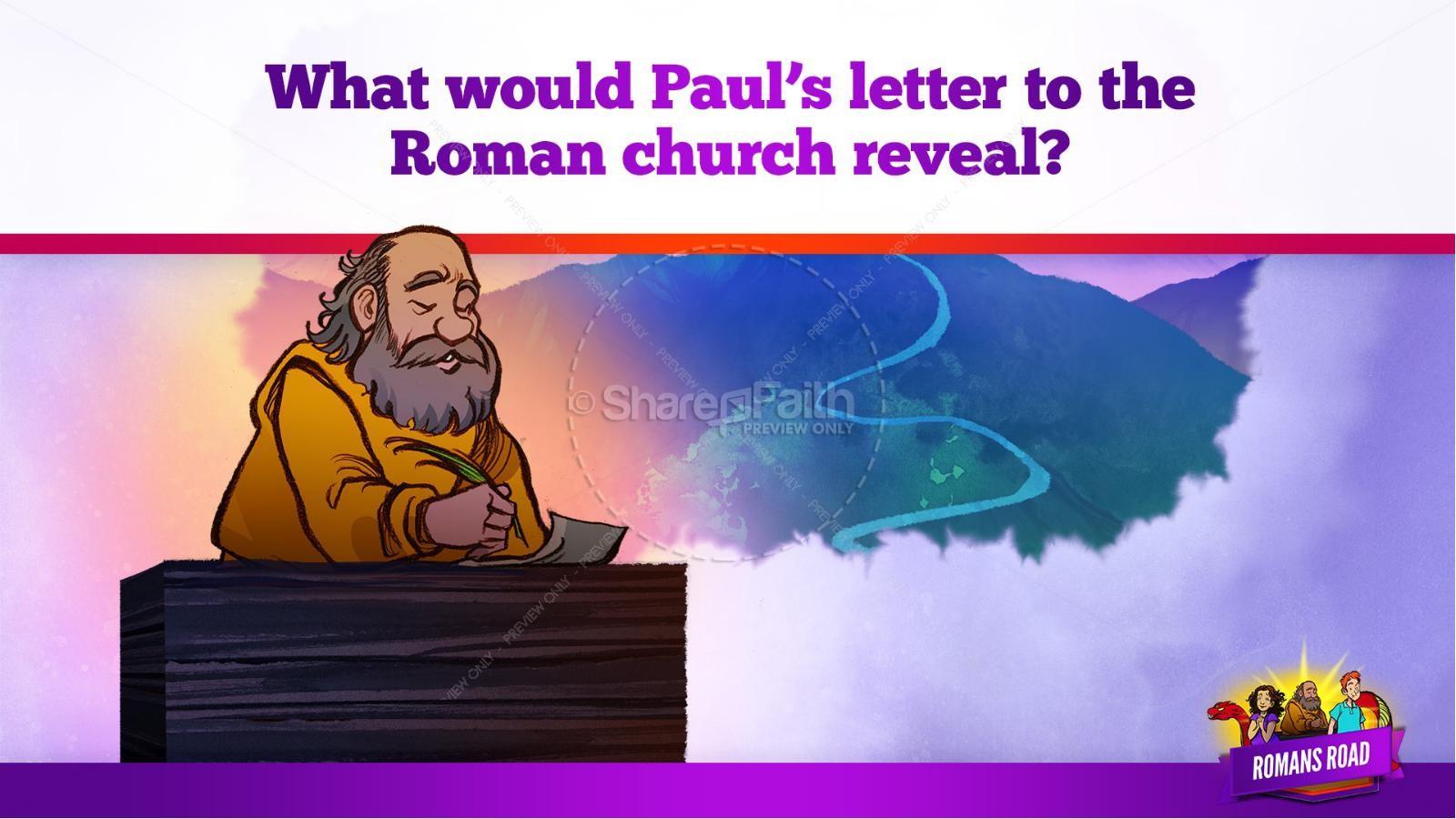 Romans Road Kids Bible Story | slide 11
