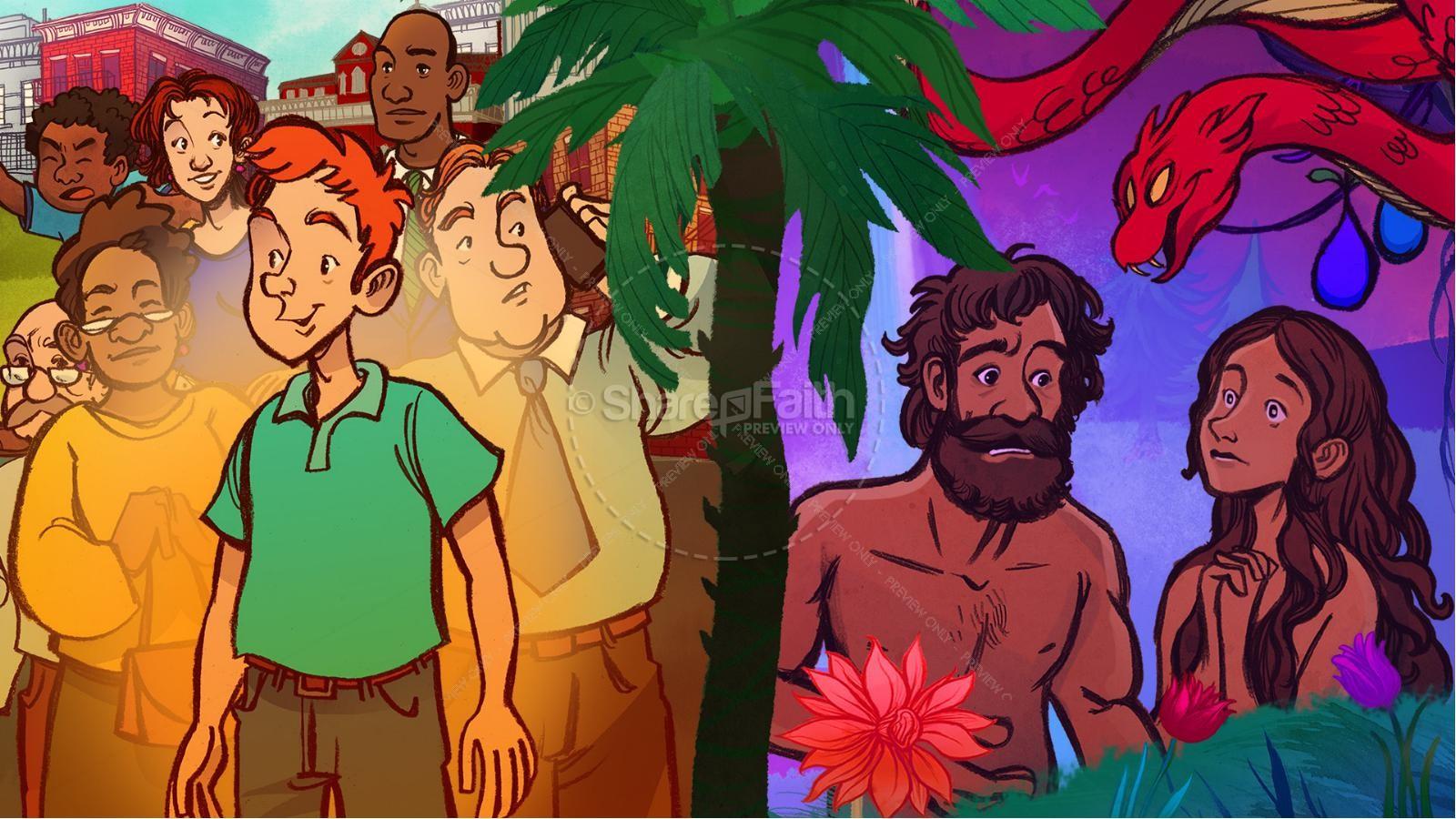 Romans Road Kids Bible Story | slide 3