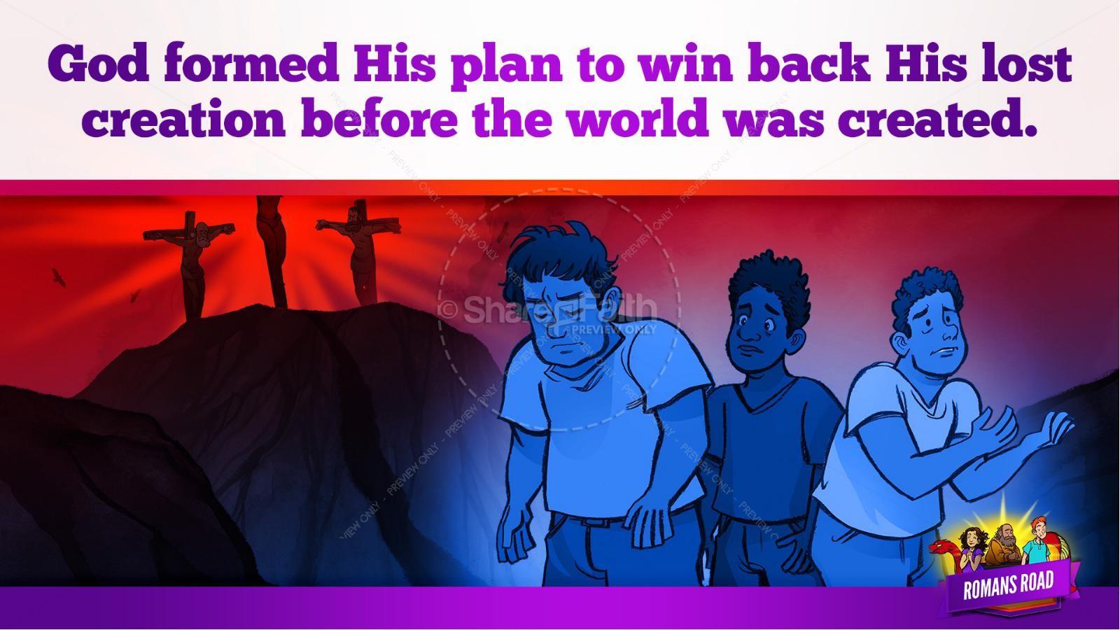 Romans Road Kids Bible Story   slide 24