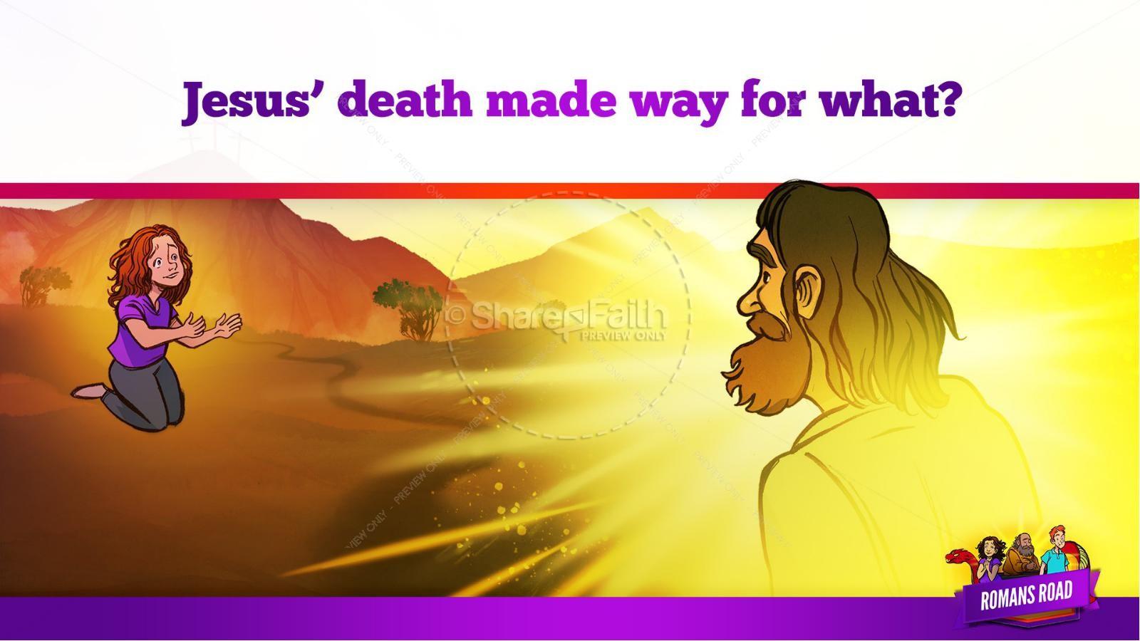 Romans Road Kids Bible Story | slide 27