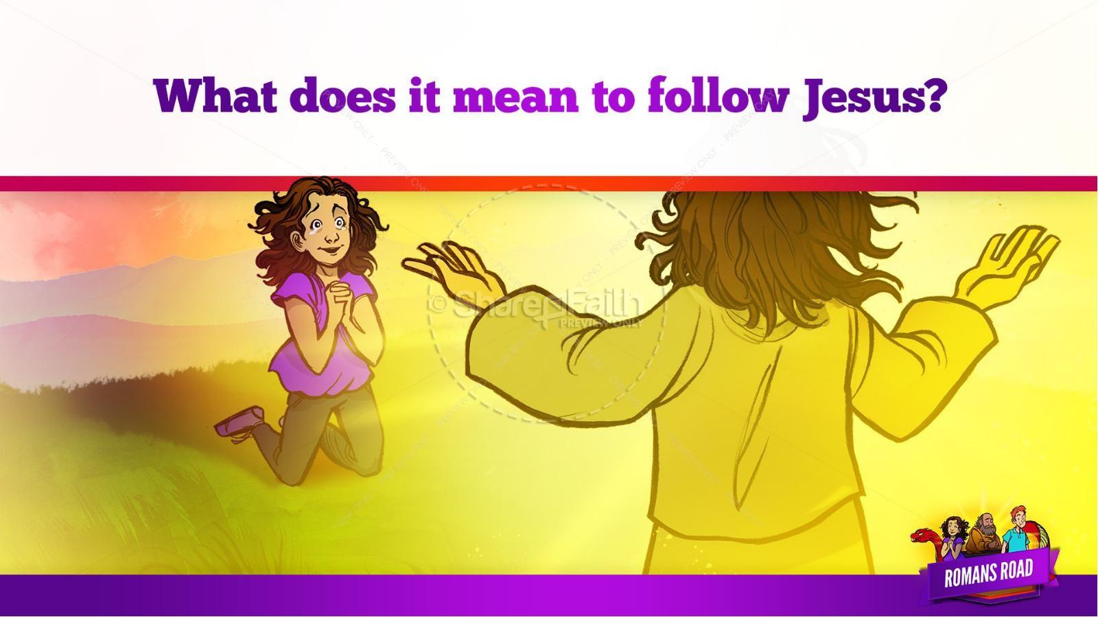 Romans Road Kids Bible Story   slide 31