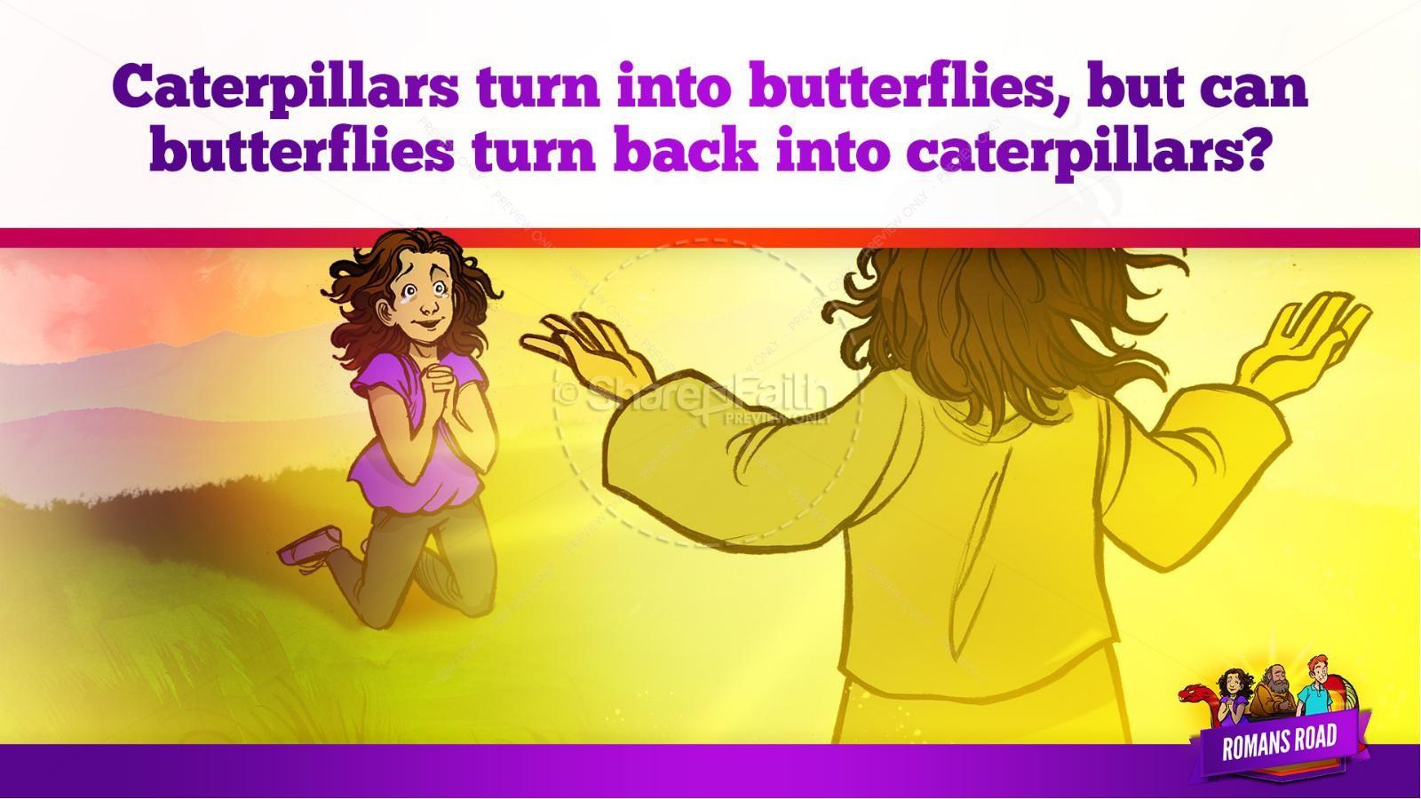 Romans Road Kids Bible Story | slide 33