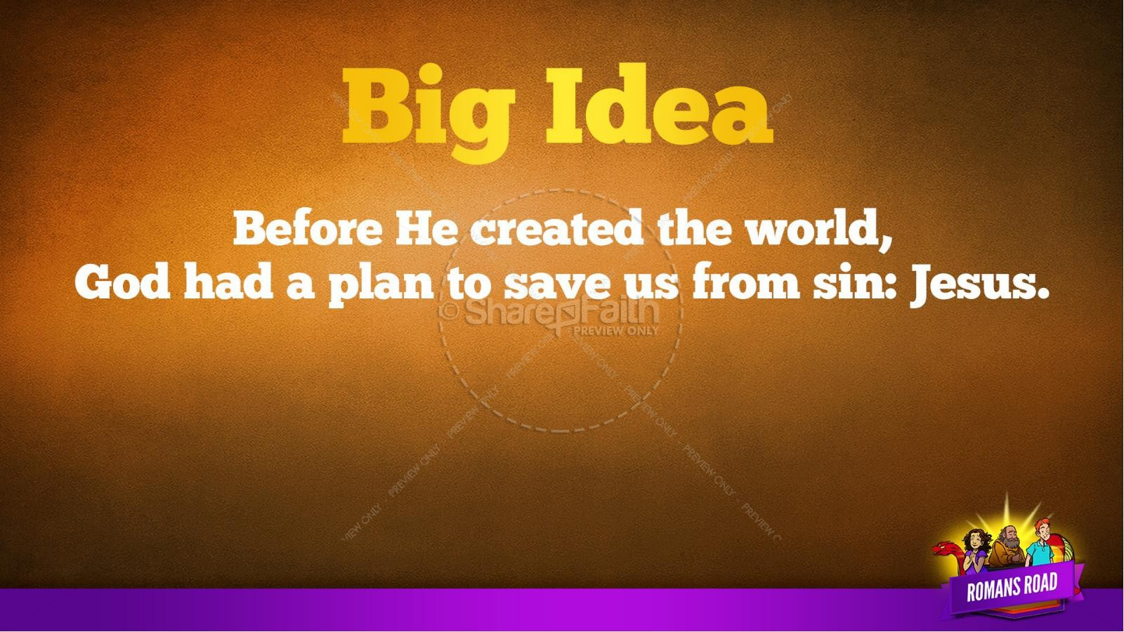 Romans Road Kids Bible Story | slide 38