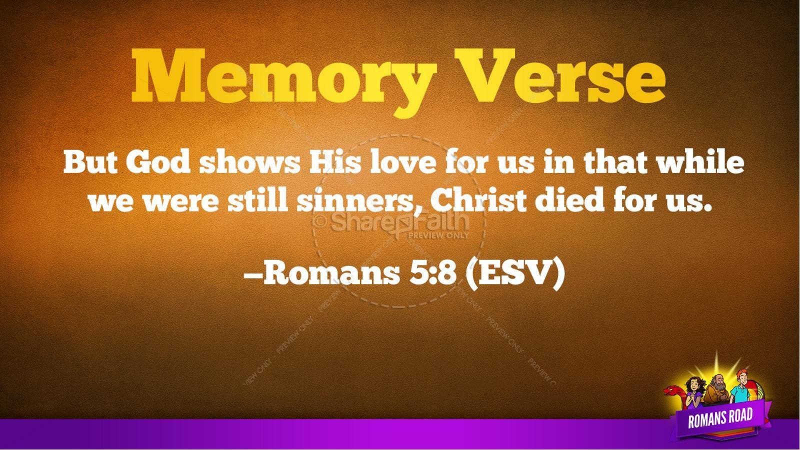 Romans Road Kids Bible Story | slide 39