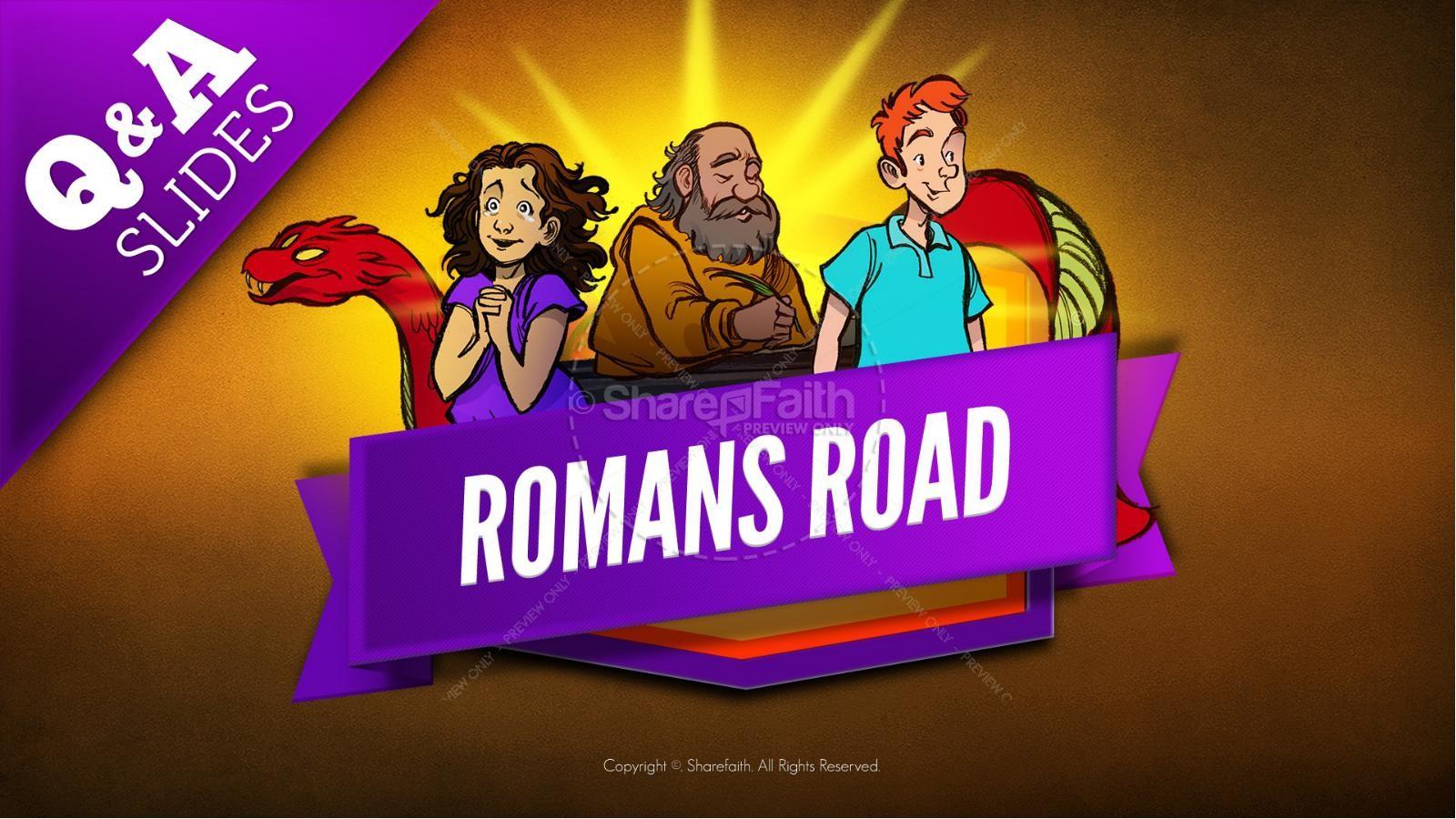 Romans Road Kids Bible Story | slide 9