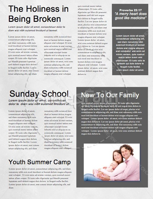 remembrance day church newsletter template template newsletter
