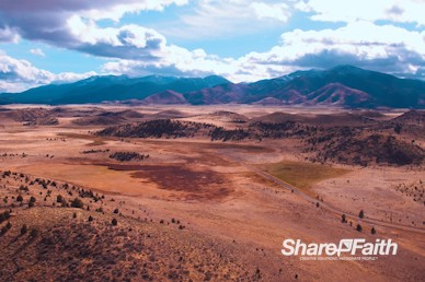 Mountain Landscape Nature Background Video