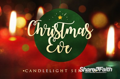 Christmas Eve Candlelight Service Motion Graphic
