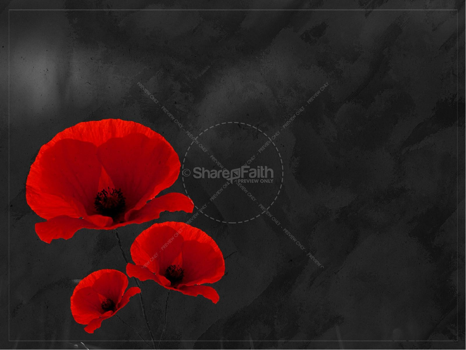 Remembrance Day Church PowerPoint Template