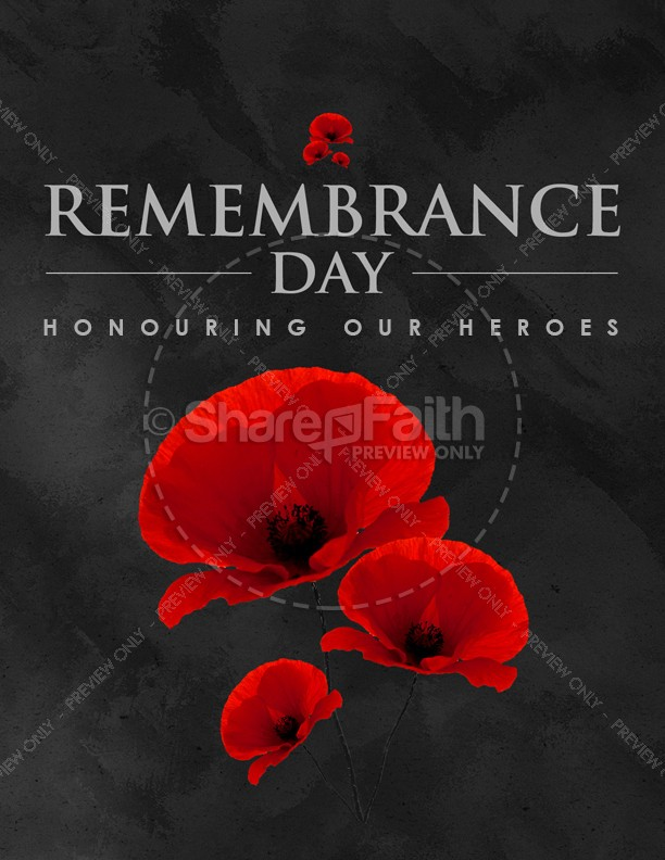 remembrance day church flyer template template flyer templates