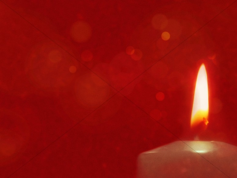 Christmas Eve Candlelight Worship Background