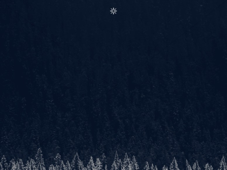 Winter Christmas Worship Background