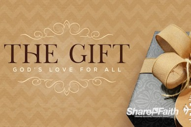 God's Gift Of Love Christmas Motion Graphic