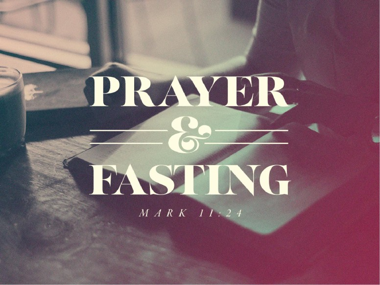 Prayer And Fasting Sermon PowerPoint Template