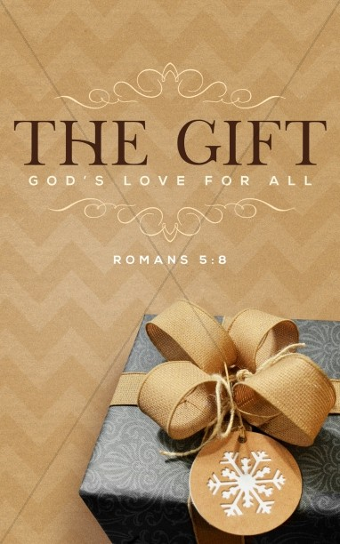 God's Gift Of Love Christmas Bulletin
