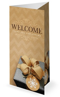 God's Gift Of Love Christmas Trifold Bulletin