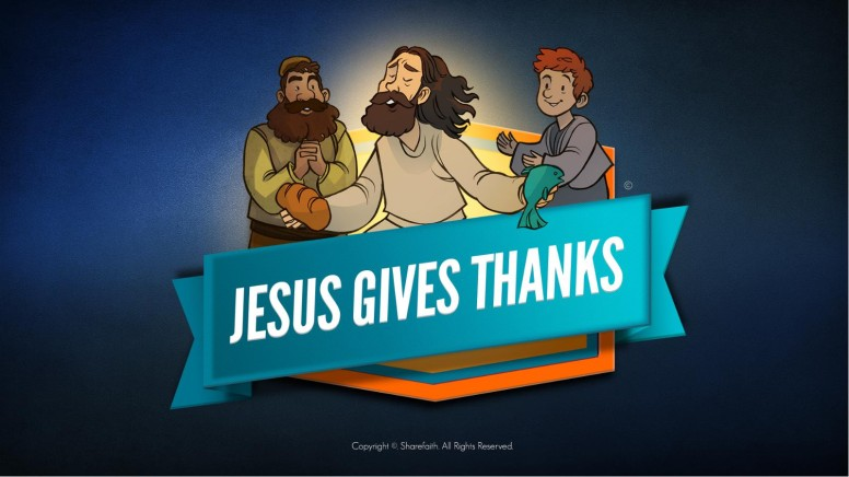 Matthew 11 Jesus Gives Thanks Kids Bible Story