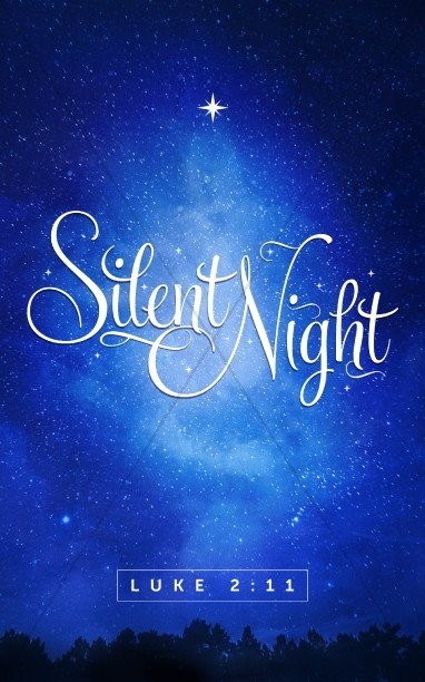 Silent Night Christmas Bulletin