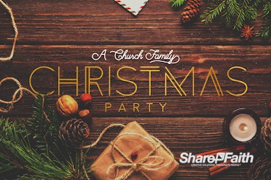 Church Christmas Party Motion Graphic