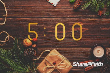 Church Christmas Party Countdown Video