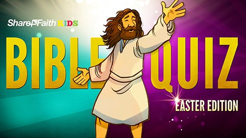 Easter Sunday School Bible Quiz For Kids