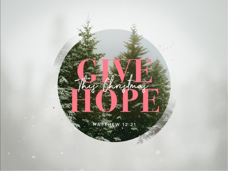Give The Gift Of Hope Christmas PowerPoint