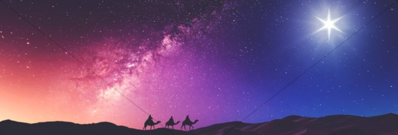 Wise Men Still Seek Him Christmas Website Banner