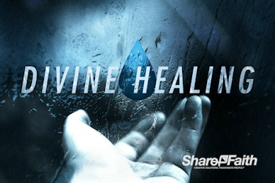 Divine Healing Sermon Motion Graphic