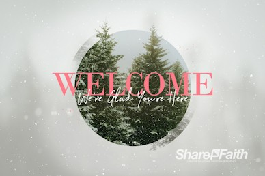 Give The Gift Of Hope Christmas Welcome Motion Graphic