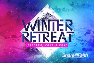 Winter Retreat Church Bumper Video