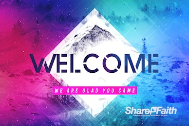 Winter Retreat Welcome Motion Graphic