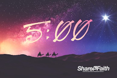 Wise Men Still Seek Him Christmas Countdown Video