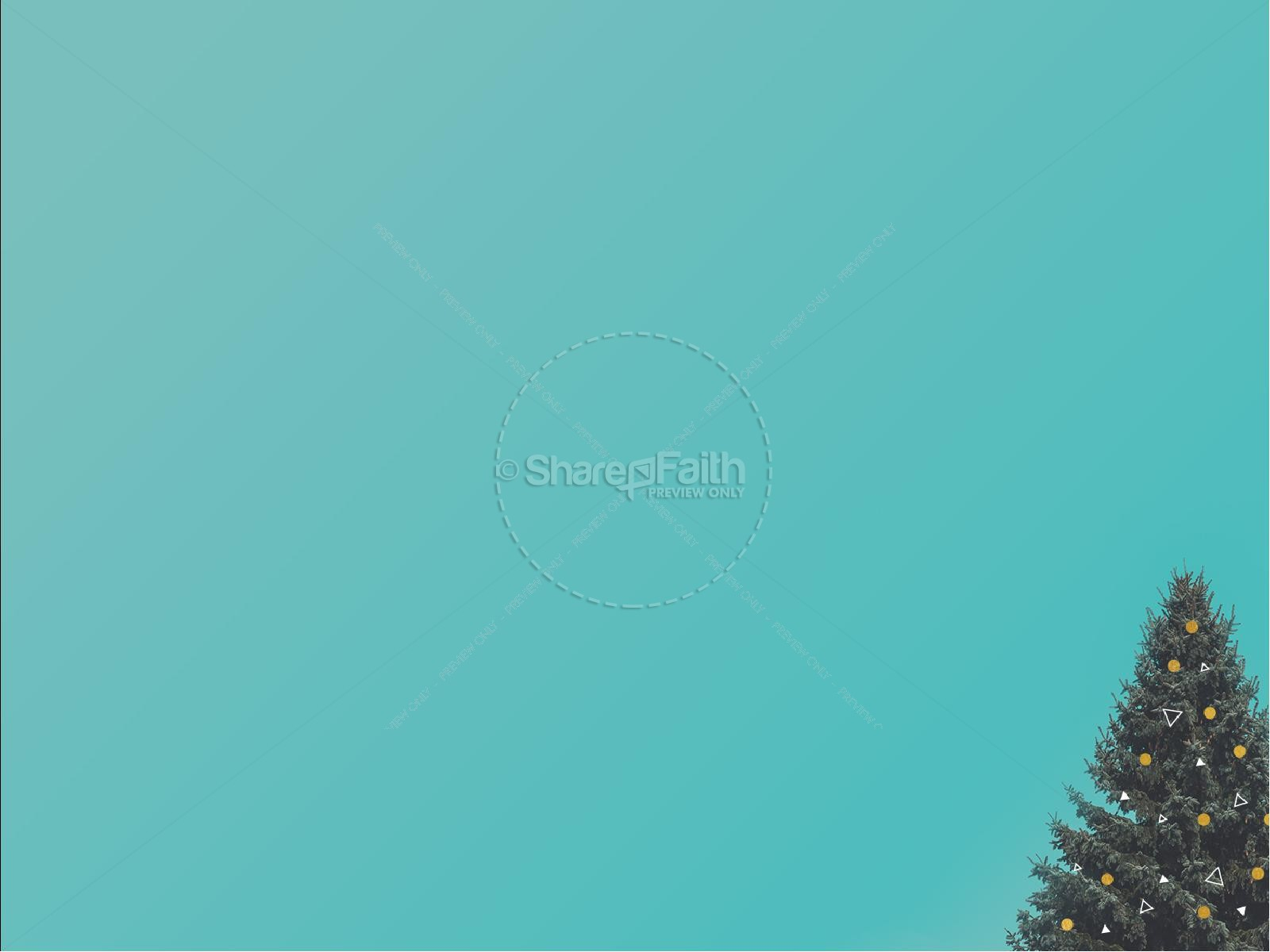 Christmas Tree Holiday Church PowerPoint