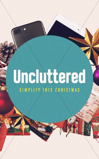 Uncluttered Christmas Church Bulletin
